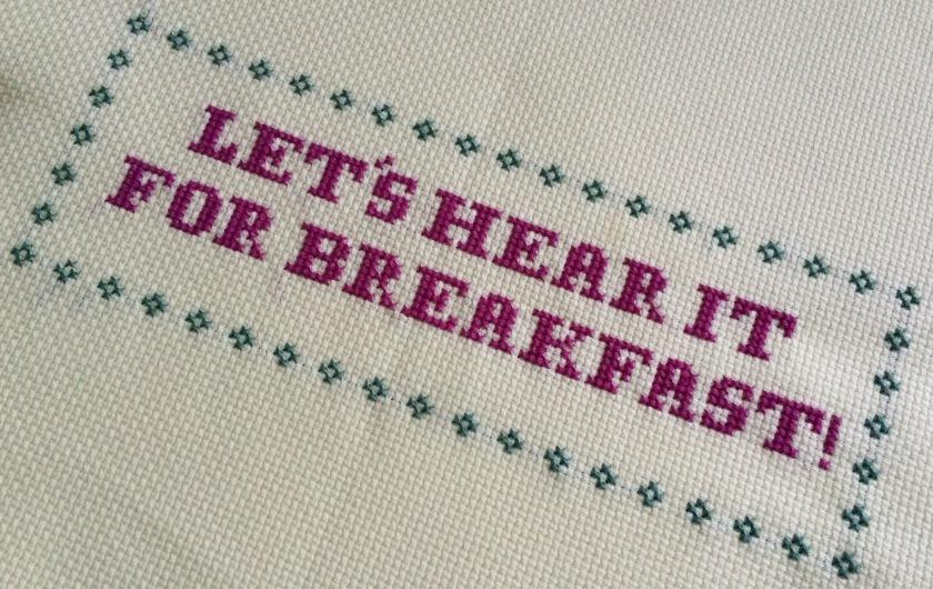 Let's Hear It For Breakfast!