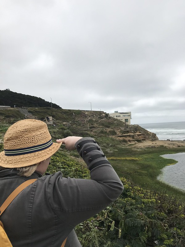 Looking for my next adventure on the horizon - Sutro Baths, San Francisco May 2019